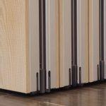 Aura 600 Acoustic, mikroperferointi mäntyviilupinnassa