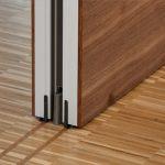 Aura 600 Easymatic-siirtoseinä, Rw 57 dB, lattian äänikatkolla